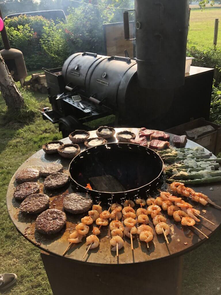 Happy Smokers - Vis, vlees & groenten