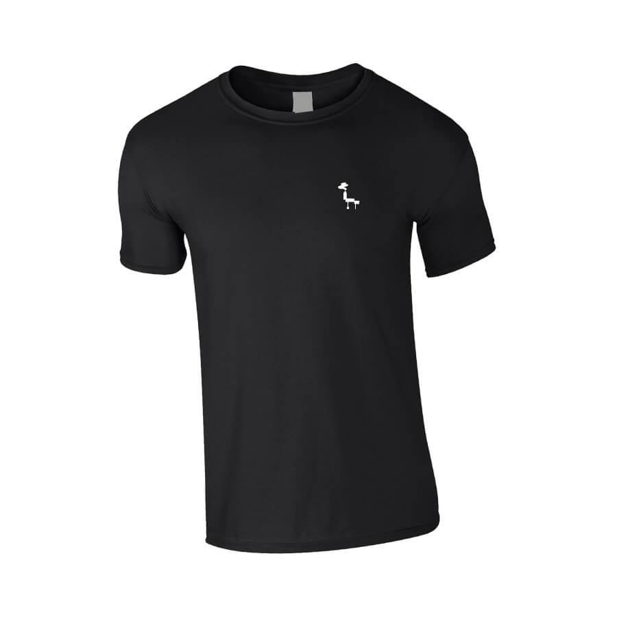 Happy Smokers T-shirt Zwart